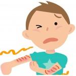 手足口病は手のひらに出ないで手の甲に出る?手の症例について!