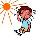 熱中症で汗が出ないときの対処の仕方と注意点!かかない理由も!