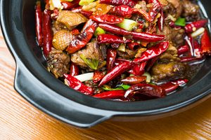 Chinese cuisine spicy chicken