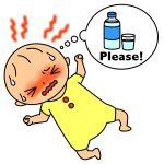 乳児や幼児の熱中症の症状への対処の仕方と注意点!予防や対策も