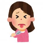 インフルエンザで味覚が苦いと感じる原因と対処法!嗅覚の異常も