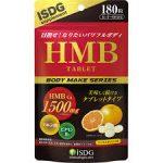 HMBタブレット(ISDG)の飲み方や効果と口コミ!おすすめな理由も